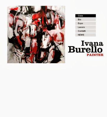 Il sito web di Ivana Burello #udine #fvg #friuli #arte #artisti #ivanaburello
