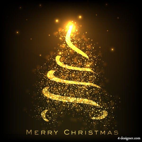 Beautiful Christmas Card 01 Vector Material Christmas Card Template Beautiful Christmas Greetings Beautiful Christmas Cards