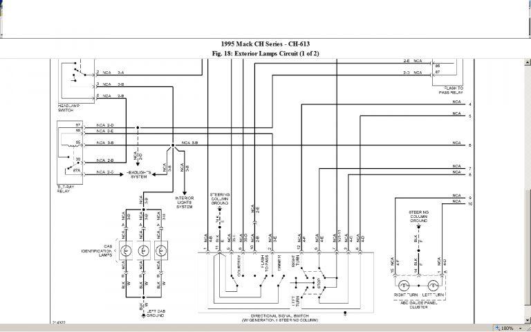 15 2009 Mack Truck Fuse Diagram Truck Diagram Wiringg Net Mack Trucks Trucks Fuse Box