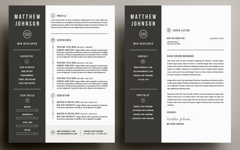 50+ Best CV & Resume Templates 2020 Resume cover letter