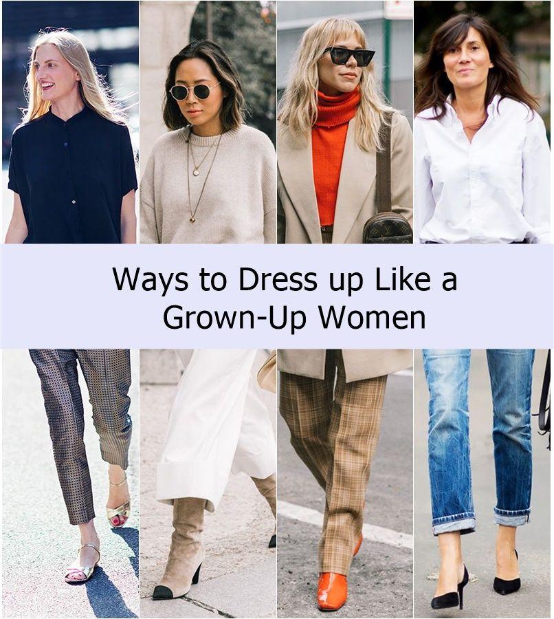 How to dress like a grown woman