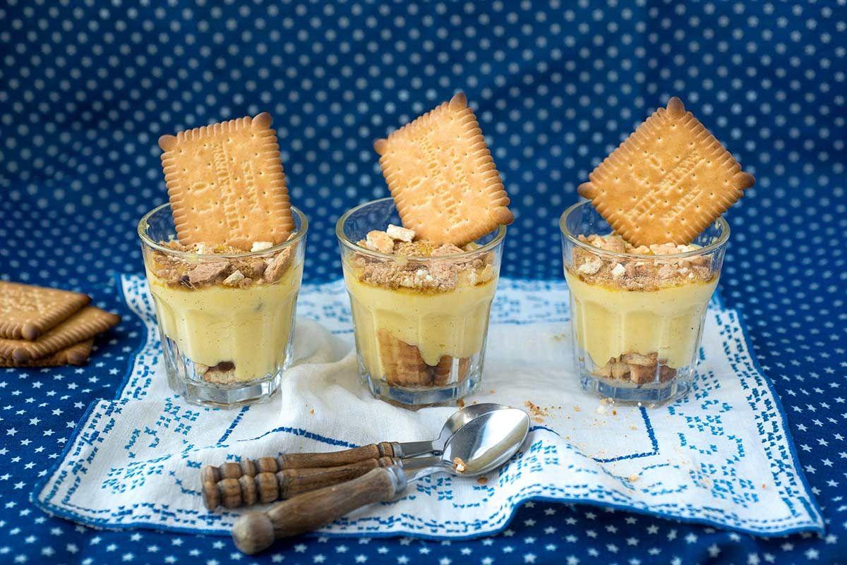 Groot of klein? Jong of oud? Iedereen houdt wel van een verse vanillepudding met petit beurre koekjes, niet?
