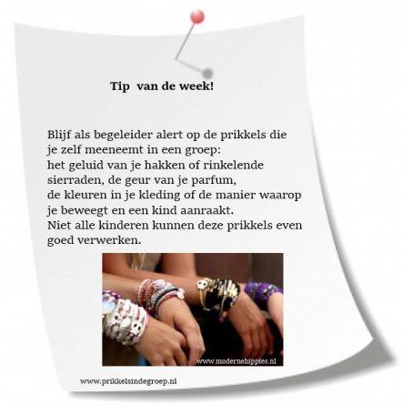 Tip Van De Week Wk24 Prikkels In De Groep Prikkel Tips Parfum