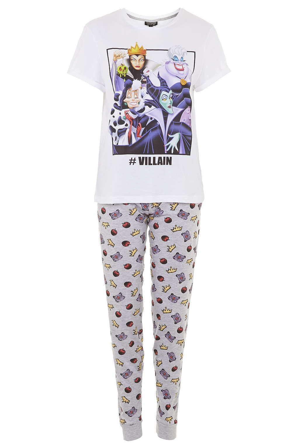 Villains Pyjama Set - Nightwear - Clothing - Topshop  664b749e3