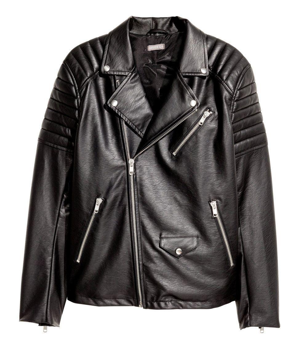 Biker Jacket H&M Divided Guys Biker jacket men, Mens