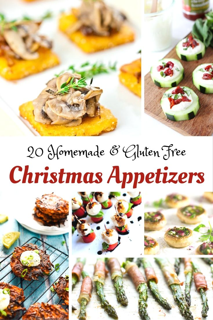 gluten free christmas appetizers - Pinterest Christmas Appetizers