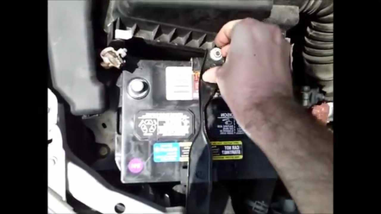 2006 Toyota Corolla Battery Replacement