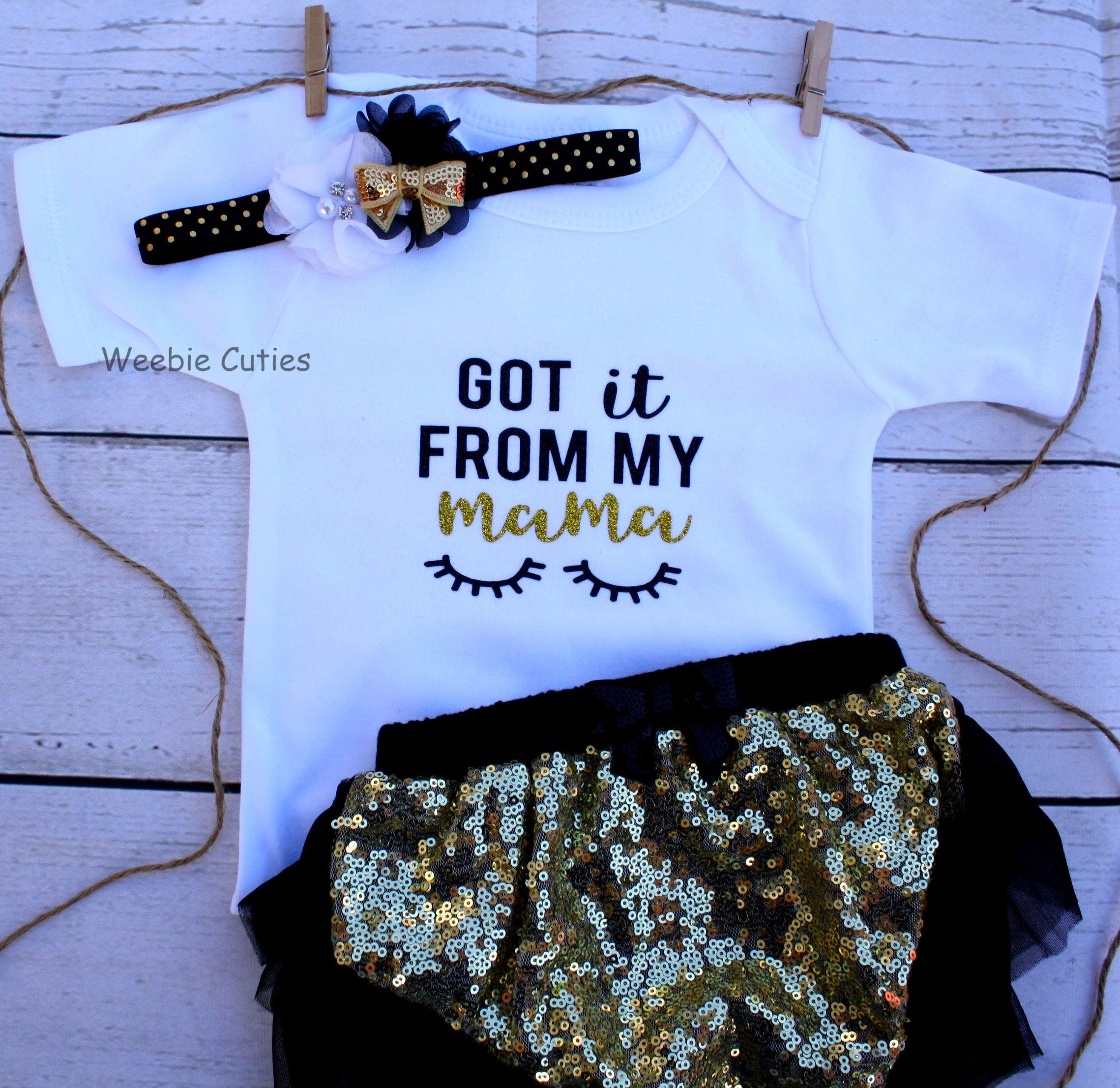 Baby Girl Clothes Baby Girl Outfit Baby Girl Sequin Bloomers Girl