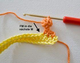 Photo of Elealinda design: tutorial: crochet pom pom trim – 3 variations