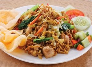 Resep Cara Membuat Bakmi Goreng Lezat Tanpa Msg Japanindo Cute Culture Resep Makan Malam Masakan Indonesia