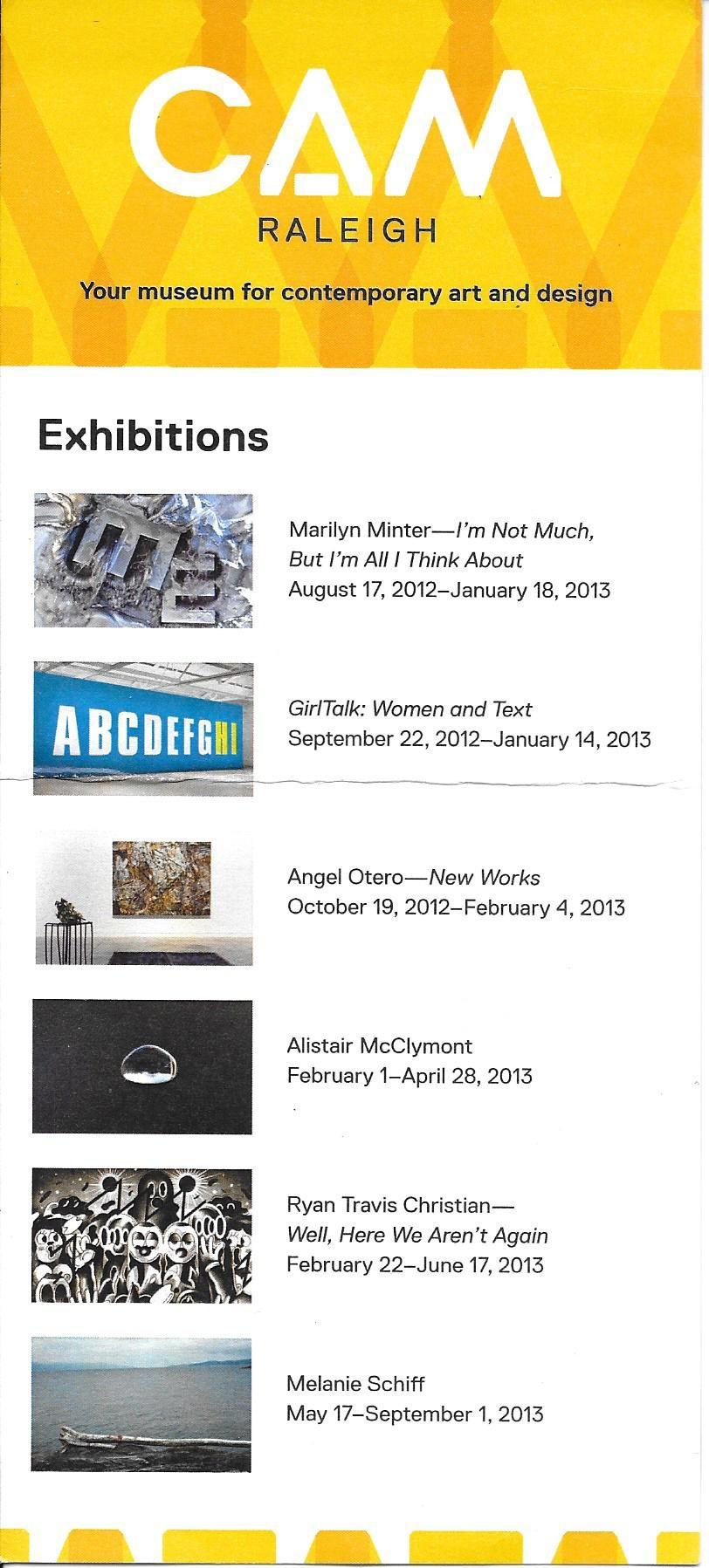 Contemporary Art Museum of Raleigh Contemporary art
