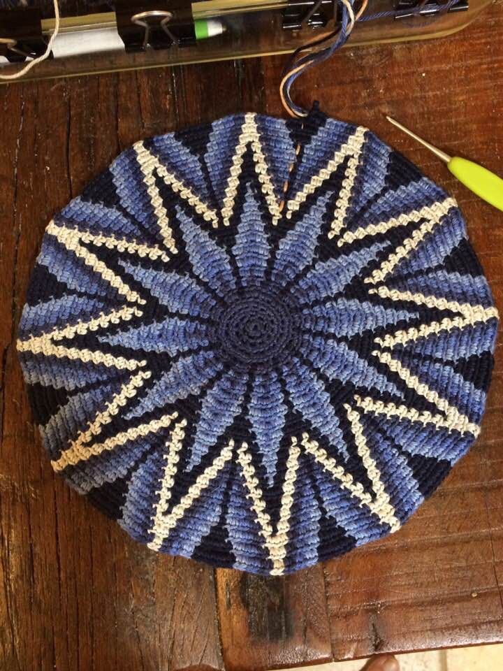 Pin von Maria de Castrillon auf Bases - Diseños Mochilas Wayuu ...