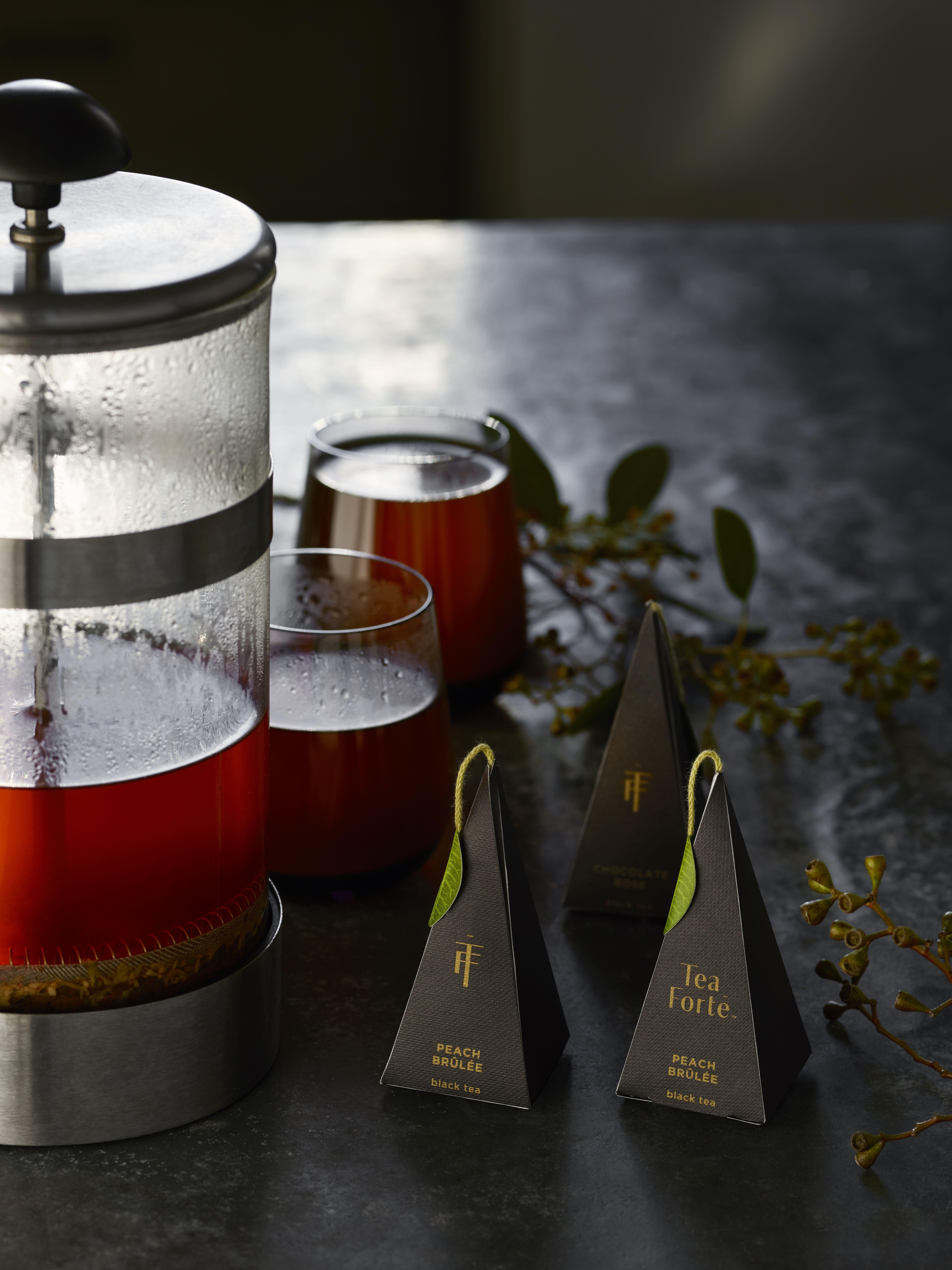 Tea Forté's Noir A collection of robust organic black
