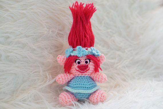 Poppy Trolls Moviev Amigurumi Pattern Easy DIY PDF Crochet Tutorial ...