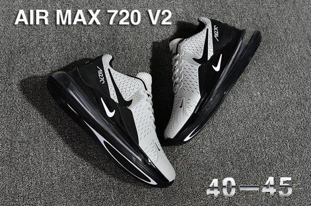 air max 720 hombres negras