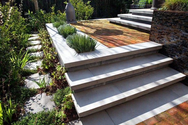 Escalier extérieur béton - l\u0027élément incontournable du design - Dalle De Beton Exterieur