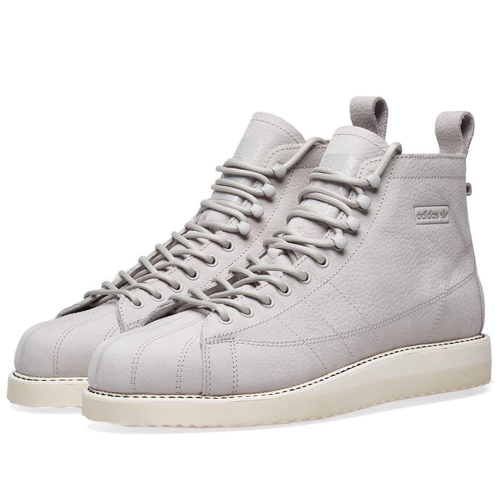 watch 2c5a2 6ce3d Adidas Originals Adidas Superstar Boot W In Grey | I love ...
