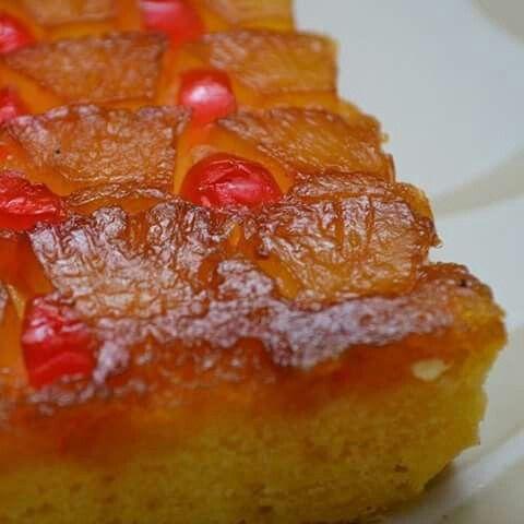 Pinnaple cake - upside down cake