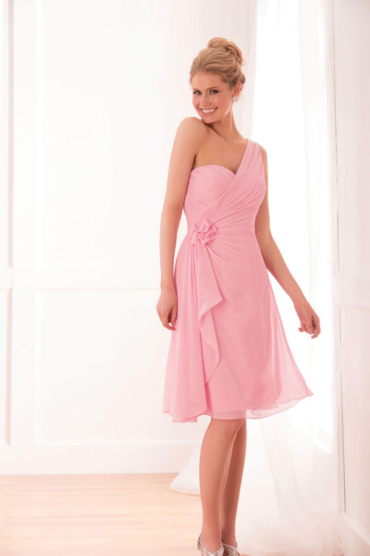 Our Favourite One Shoulder Bridesmaid Dresses | Pinterest