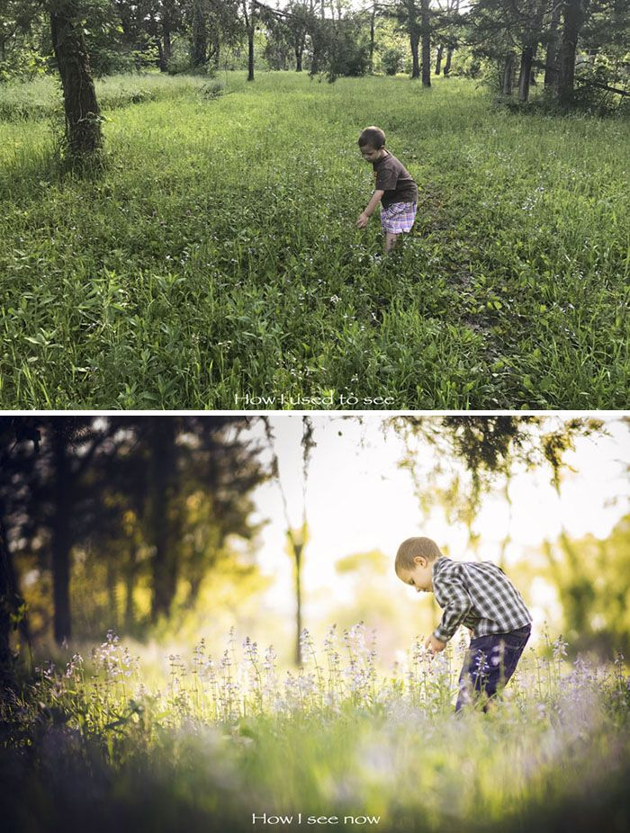 Photos Showing What Most People See And What A Photographer Sees