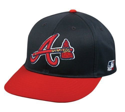 brand new 239c9 18082 Atlanta Braves (Tomahawk Logo) ADULT Cap (NEW CF2 Visor Flat or Curved) MLB  Adjustable Baseball Replica Hat by Team MLB.  9.34. Adult Size (6 7 8 - 7  1 2