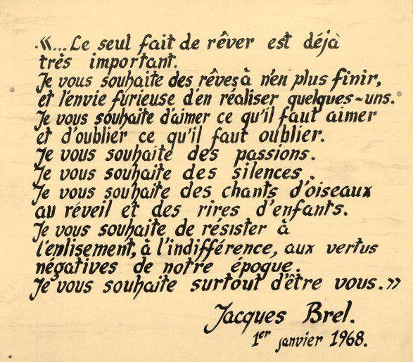 Jacques Brel Je Vous Souhaite Recherche Google Citations