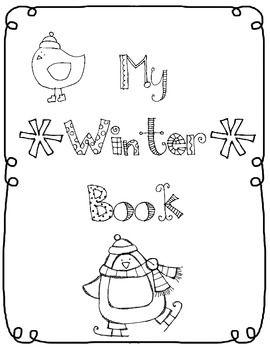 Winter Coloring Book Winter Theme Preschool Winter Theme Winter Preschool