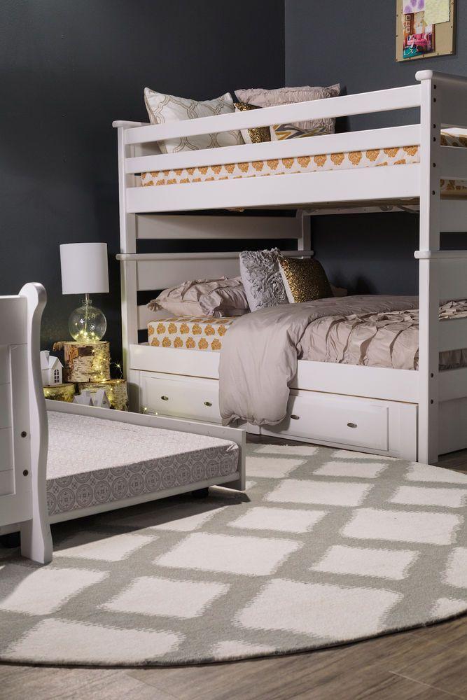 Best Trendwood Laguna White Full Over Full Bunk Bed Mathis 400 x 300