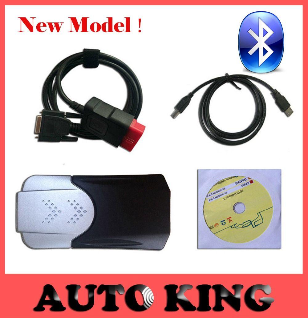Oryginalny 2015 1 nowy vci cdp vd ds z bluetooth tcs cdp pro dla samochod w ci arowych auto