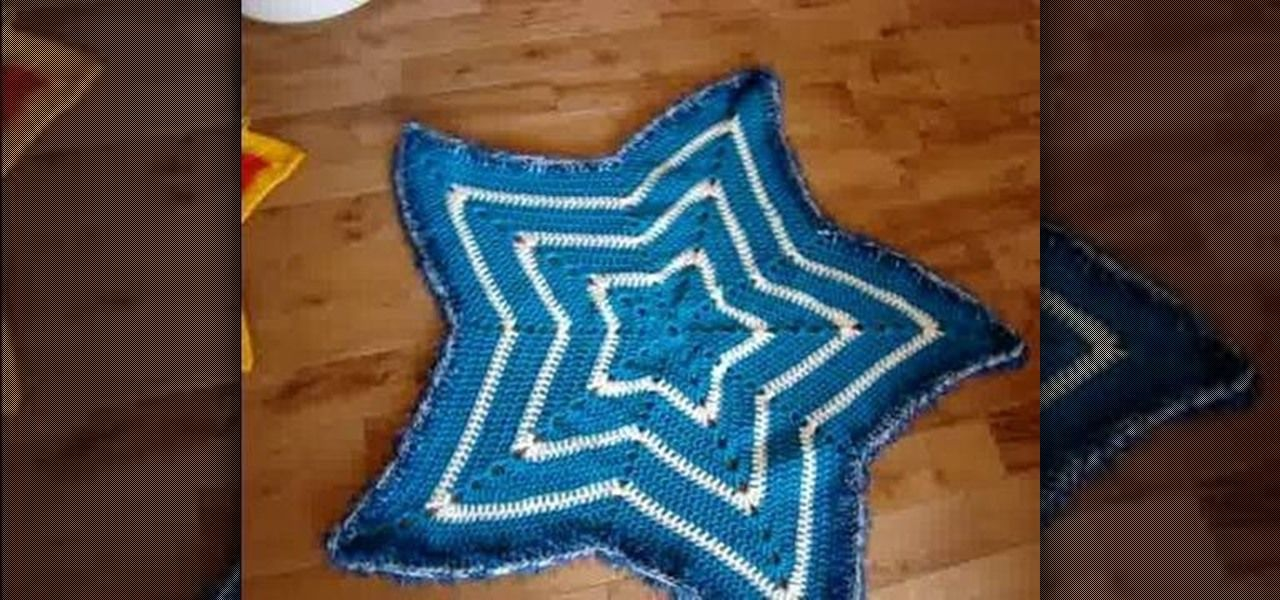 Crochet Star Placemat | Crochet for Christmas | Pinterest