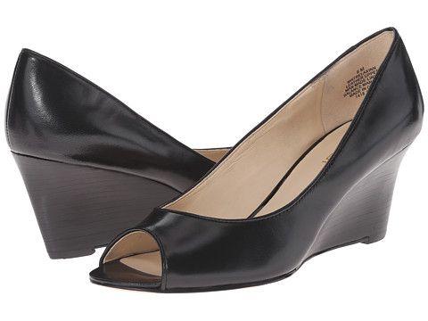 Nine West Relaxinn Black Leather - 6pm.com
