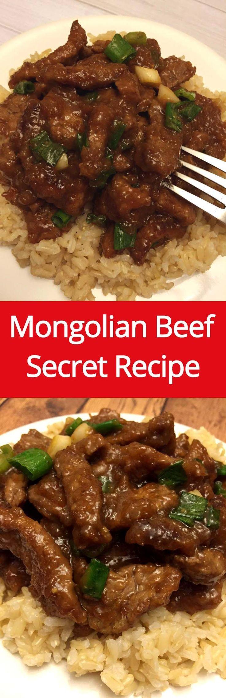 Authentic Mongolian Beef Copycat Recipe Like PF Chang's