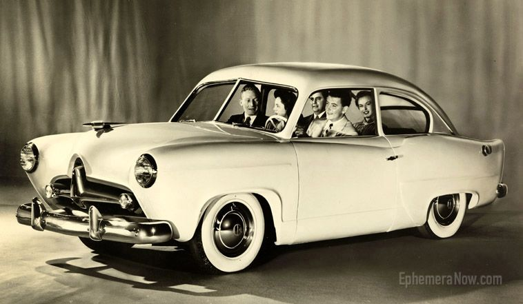 Small Economy 1951 Kaiser Henry J Available At Sears Roebucks Department Stores Classic Cars Volkswagen Karmann Ghia Vintage Cars