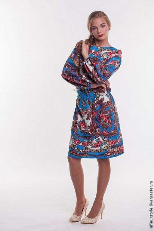 Платья из вискозы с эластаном