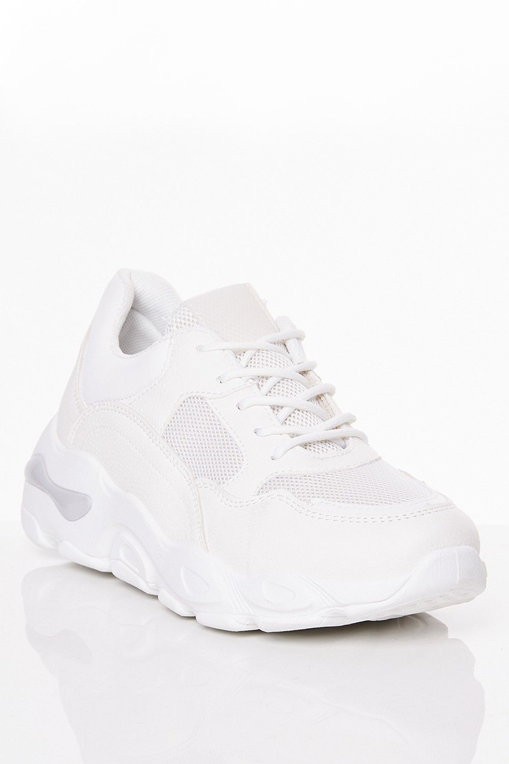 Emma White Chunky Trainer | Trainers
