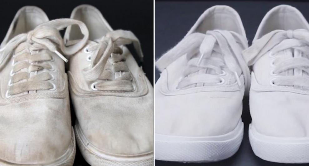 Astuce Maison Blanchir Rapidement Les Blanches Chaussures Pour I6gfvYb7y