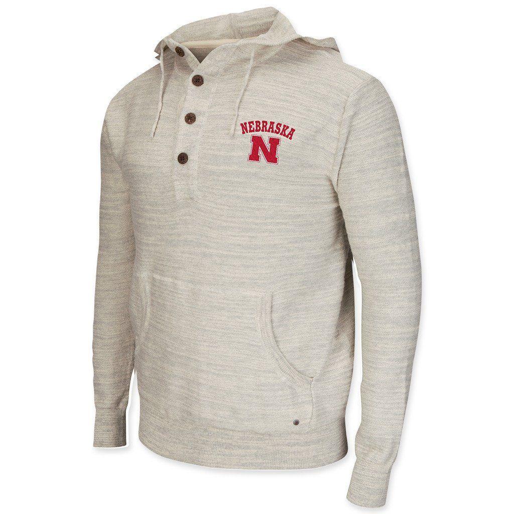 Nebraska Huskers Cotton Slub Hoodie Michigan Apparel Hooded Sweater Hoodies Men [ 1024 x 1024 Pixel ]