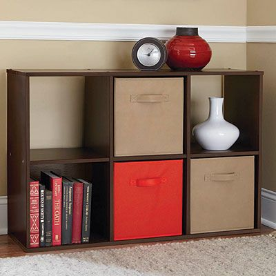 View System Build™ Cubby Resort Cherry Deals At Big Lots   Cheap Nursery  Storage!