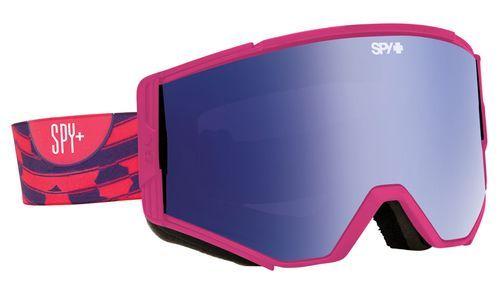 886bb518b1 Spy Optic Ace Snow Goggles Raspberry Swirl Pink w Dark Blue Spectra Lens +
