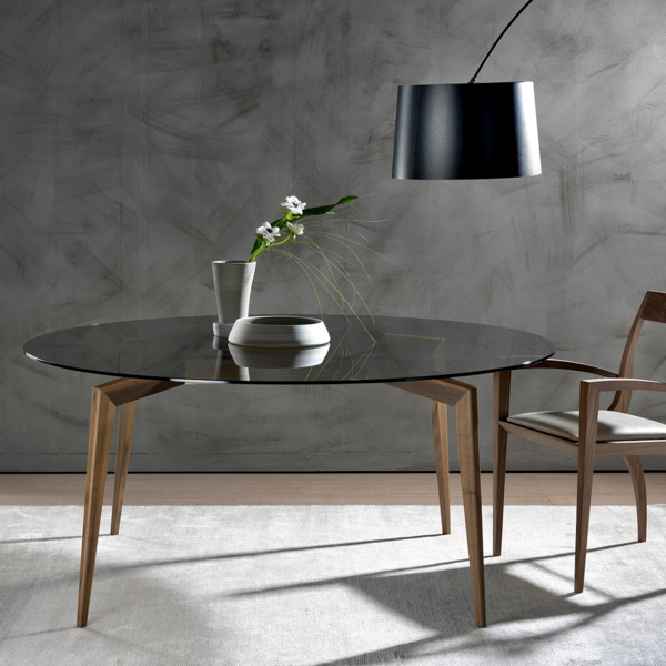 Hope is a contemporary Italian dining table design from Pacini e ...