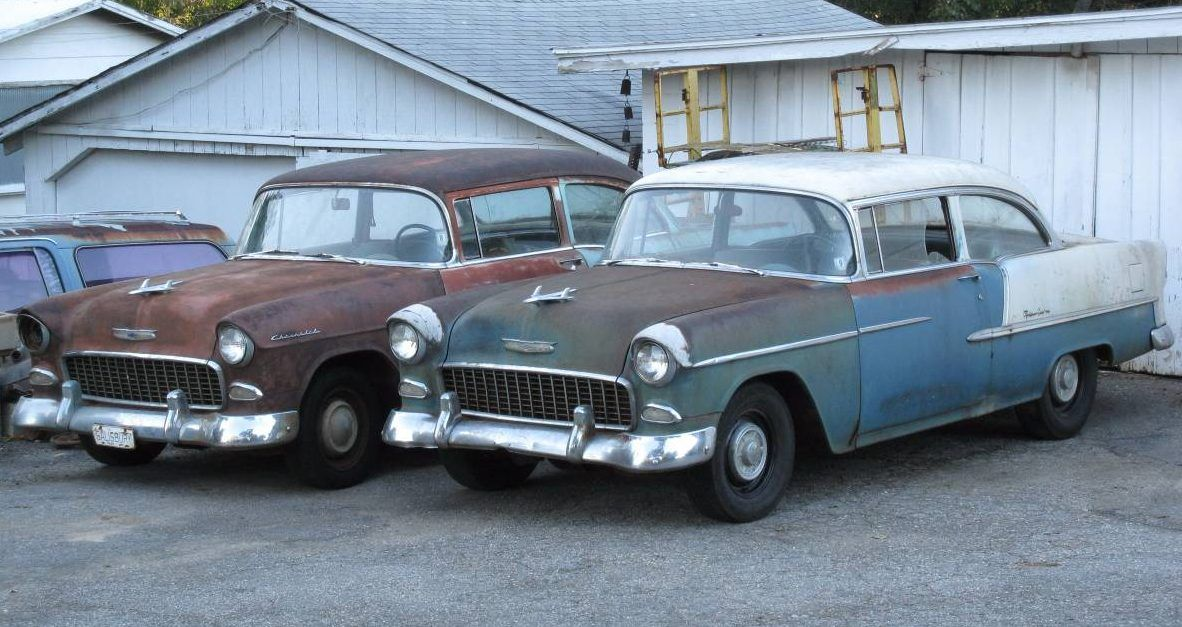 40 Year Sleep Chevy Bel Air And Delray Combo Chevy Bel Air