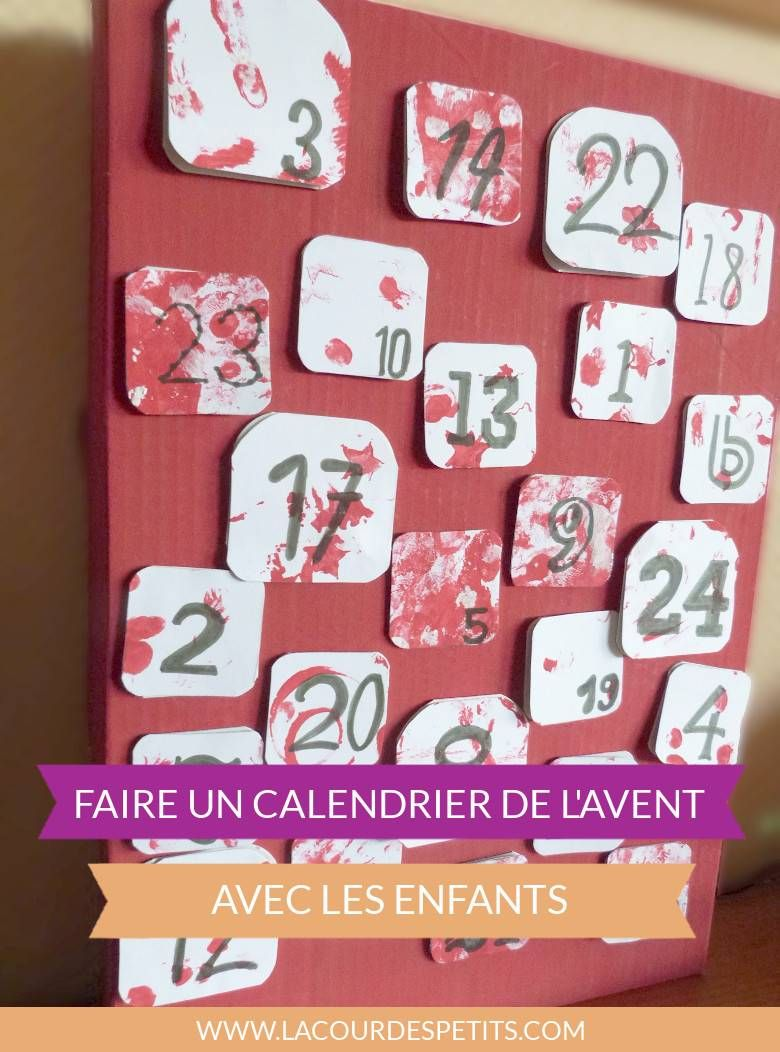 bricolage de no l le calendrier de l 39 avent avec des pots de yaourts calendriers de l 39 avent. Black Bedroom Furniture Sets. Home Design Ideas