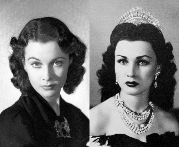 Does Vivien Leigh Look Like Princess Fawzia Vivien Leigh Beauty Classic Beauty