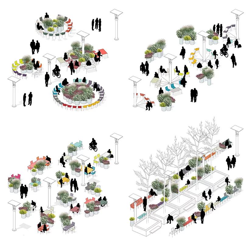 city3 + atelier starzak strebicki + laura muyldermans turn brussels' esplanade into a public, social space