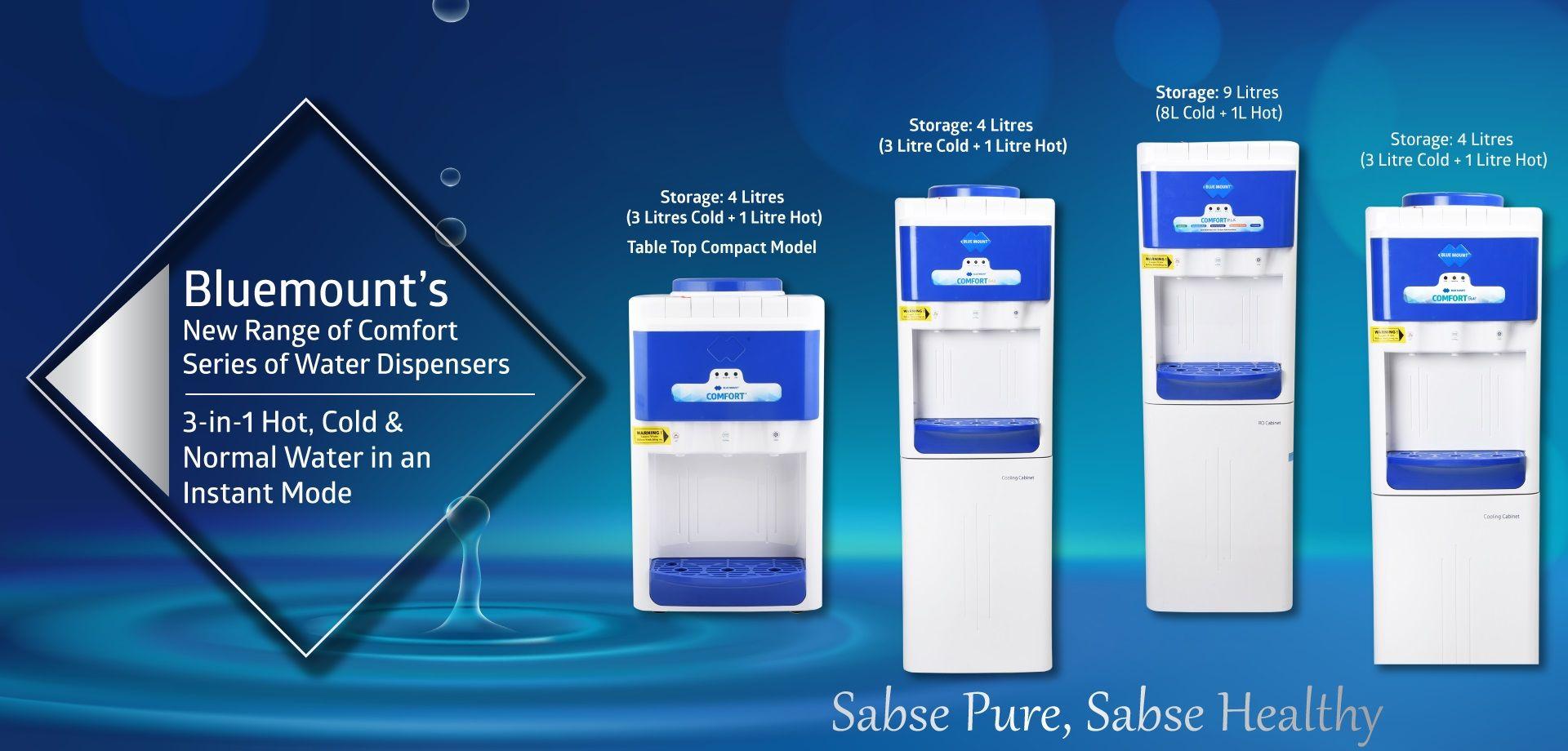 Blue Mount brings a very new range of Alkaline comfort