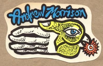 The New Deal Andrew Morrison Sticker