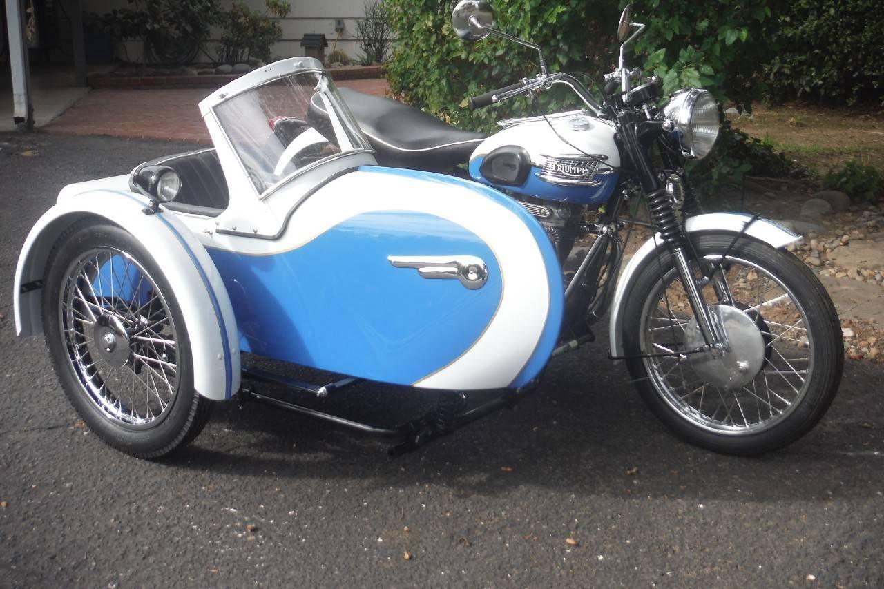 sidecar triumph 1959 motorcycles t110 classic motorcycle rocker bike bobber dirt custom bikes
