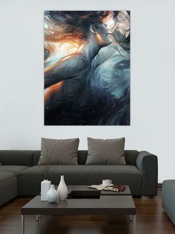 Submerge by Charlie Bowater - Available as a large format ArtBillboard print at Artbillboards.com