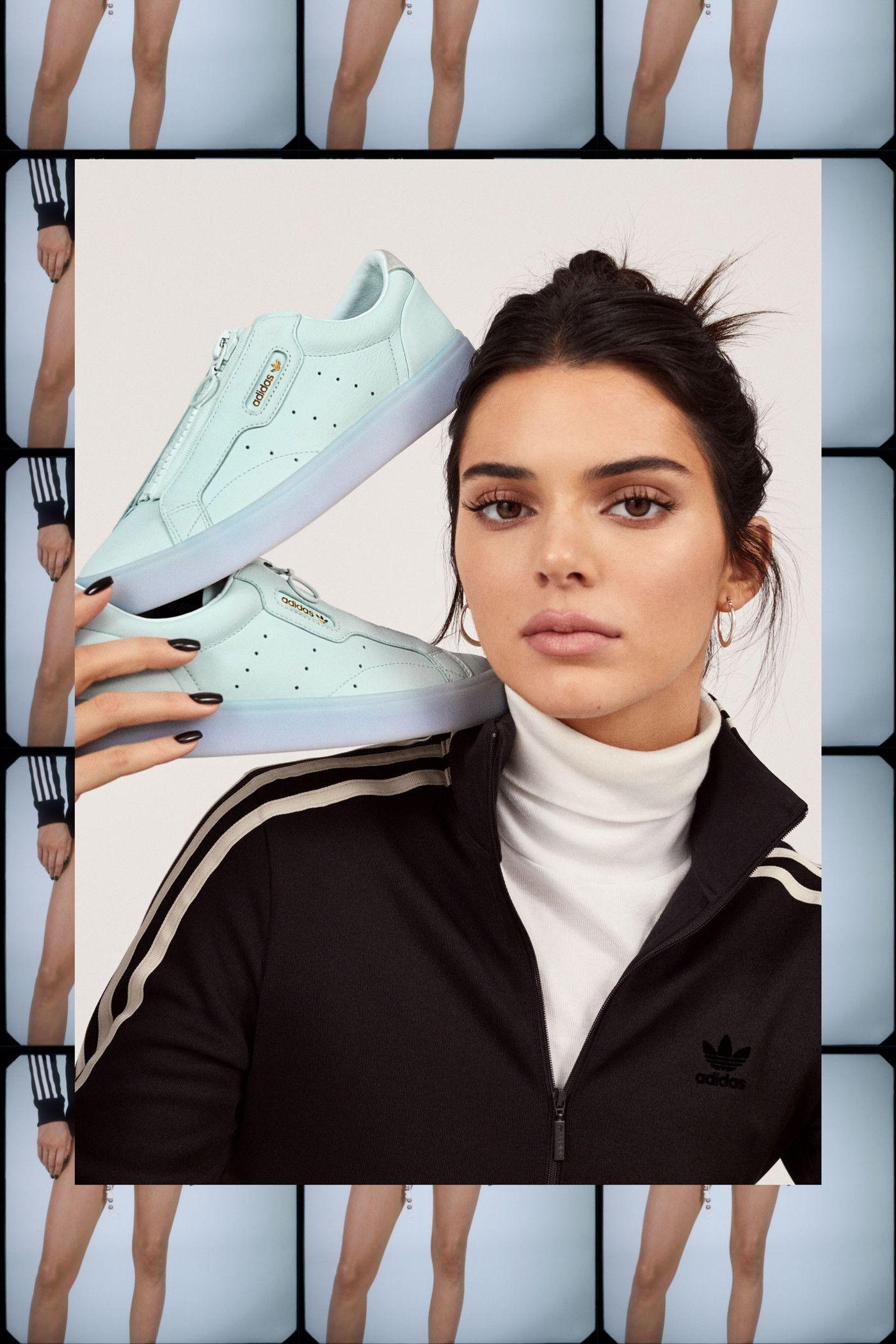 Kendall Jenner Stars in adidas' New Sleek Lookbook in 2019
