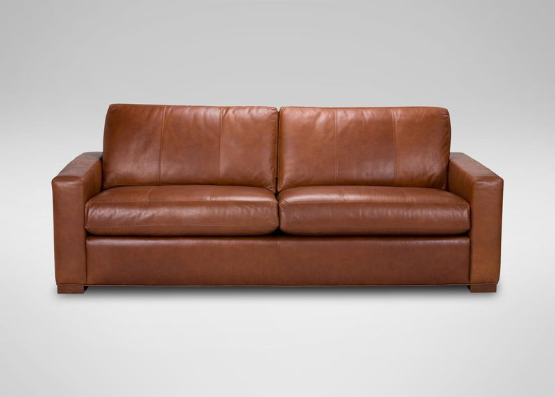 Hudson Leather Sofa At Ethan Allen Leather Sofa Living Room Best Leather Sofa Leather Sofa